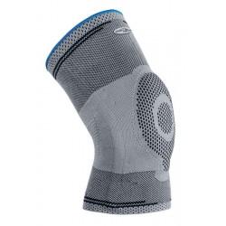 La Genouillère GENUFORCE de compression avec un anneau en silicone soulage les contraintes de votre genou.
