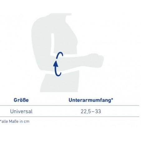 Tableau de mesure pour bandage Epicondylien EpiPoint