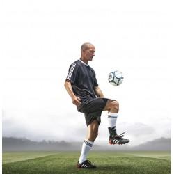 Orthèse de stabilisation AIRCAST AIRGO plus dans chaussure de foot