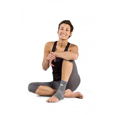 Fußgelenk Bandage mit Silikon-Pelotten MALLEOFORCE