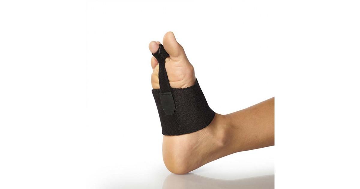 Der Weil-Osteotomie Strap Verband ist wirksam bei Unannehmlichkeiten einer Hammerzehe