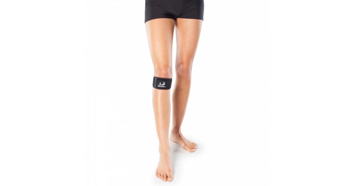 Le bandage Q-BABY est simple et efficace pour soulager les problèmes antérieur du genou