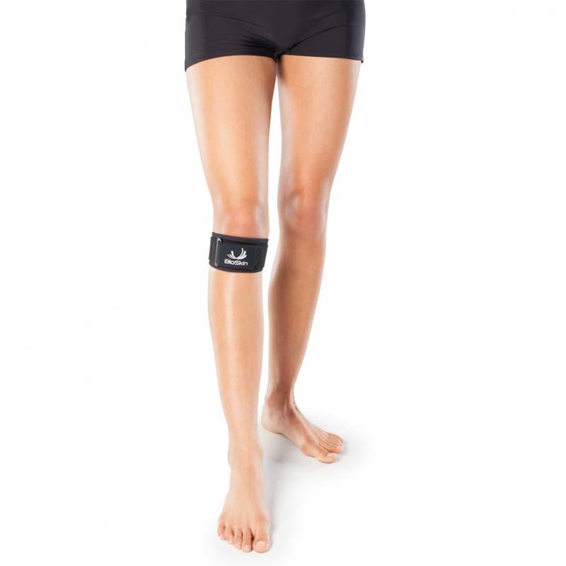 Die Q-Baby-Bandage einfach und effektiv zur Linderung von Knieproblemen