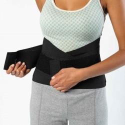 Standard Back Skin - Rückenbandage:den Back Skin Gürtel mit dem Klettverschlusssystem schließen