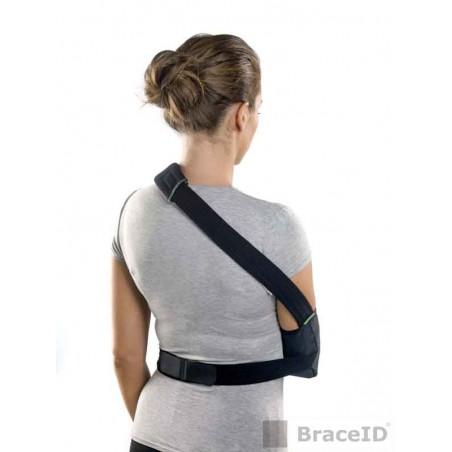 système de fermeture à deux sangles (épaule et bas du dos), la tension sur la nuque et l'épaule sont réduites