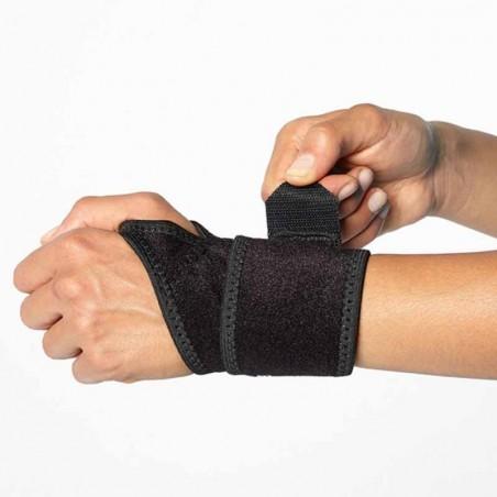 Kraft Handgelenk Bandage BOOMERANG WRIST WRAP: Dann schliessen Sie das Hauptband