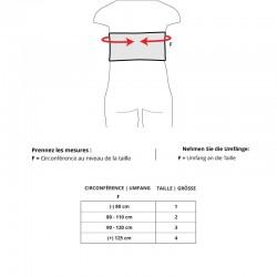 Tableau des tailles - Ceinture thoracique