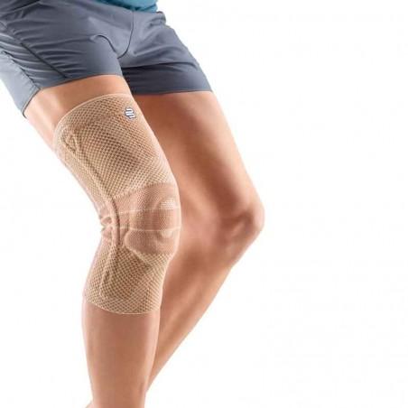 GenuTrain Aktivbandage in beige: elastische Kniebandage zur Entlastung und Stabilisierung des Knies.