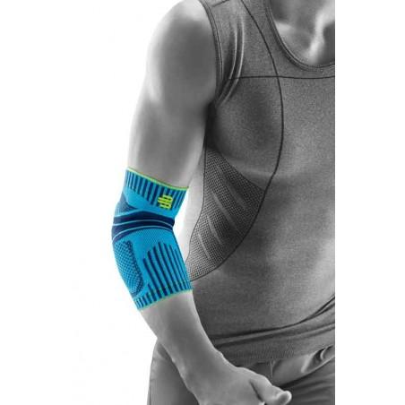 Sport Elbow Support - verbessert die Bewegung des Ellenbogens - Farbe riviera