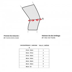 Tableau Taille Bota Ortho DF 1100