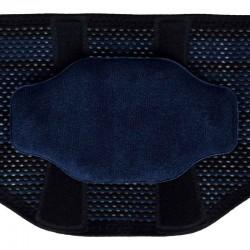 Sport Back Support - couleur Noir - Pelote Silicone