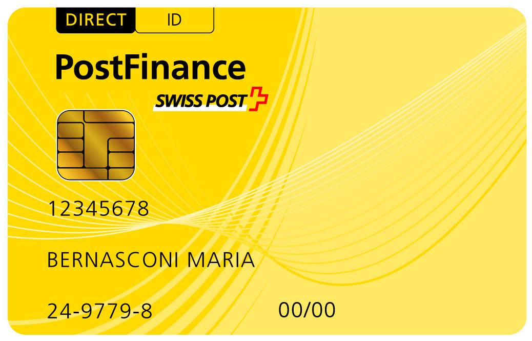 Logo PostFinance Card