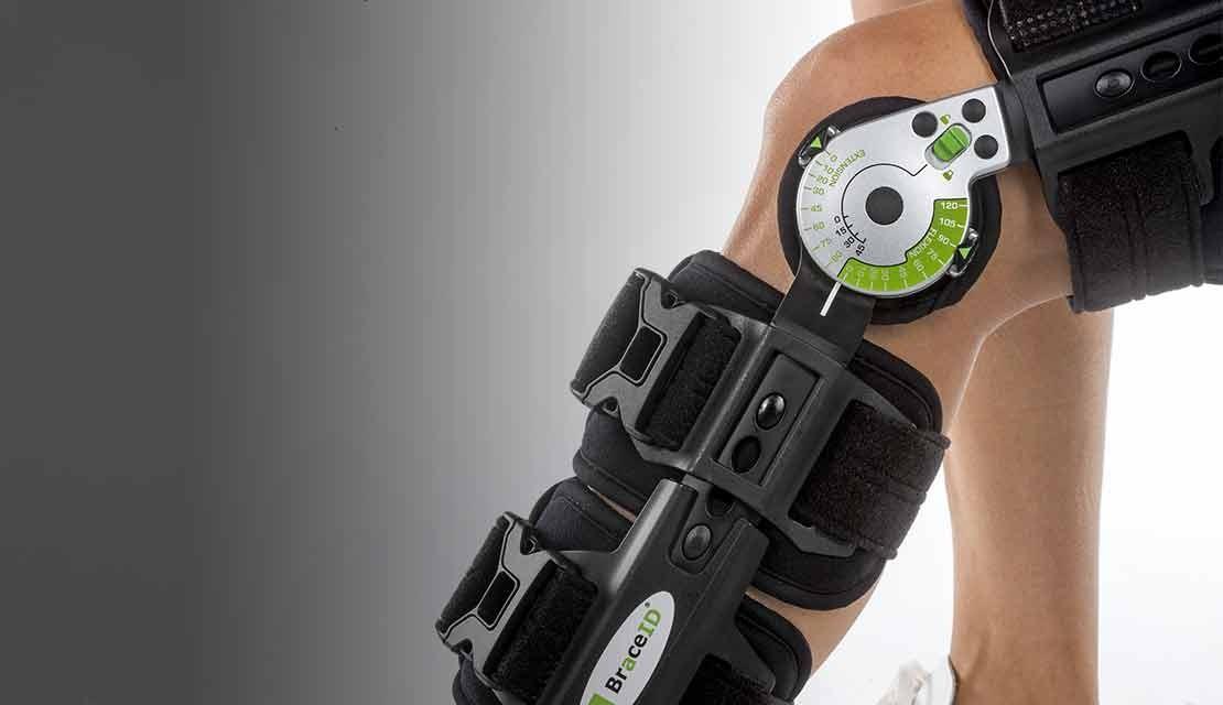 Post-OP ROM - Knieorthese mit verstellbaren Stopps